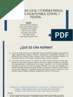 normatividad   local   y   for á nea   para   el   dise ñ o   de   sistemas   de   agua   potable   b.c.s .