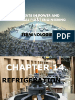 Chapter 14 - Refrigeration