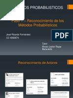 Paso 1 – Reconocimiento de Los Métodos Probabilísticos