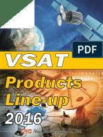 Vsat Line Up 2016