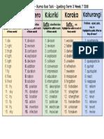 spelling t3 w7 - google docs