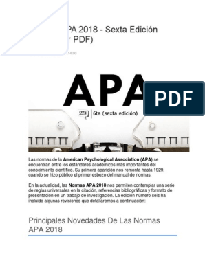 Apa 2018 6ta Edicion Quotation Mark Opec