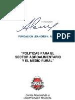 Proyecto Políticas para el Sector Agroalimentario de la Fundación Alem