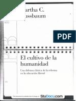 Nussbaum El Cultivo de La Humanidad Capitulo 3.