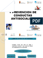 CONDUCTAS ANTISOCIALES
