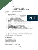 Evaluacion Nro 04 Planificacion