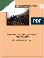 Informe Salida de Campo Tambomachayddd
