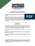 La Formación y El Estilo Del Terapeuta.ceberio Moreno DesChamps Libro