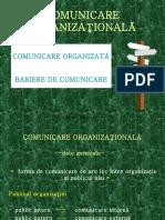comunicare organizata. bariere