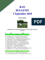 Bulletin 180901 (HTML Edition)