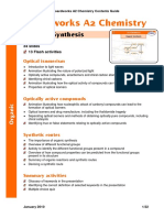 Boardworks A2 Chemistry Contents Guide