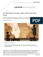 In Paligenosis Adult Cells Turn Fetal to Heal Wounds 20180829