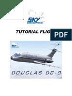 Skysim DC9 Flight Technique