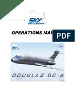 Skysim DC9 Operation Manual