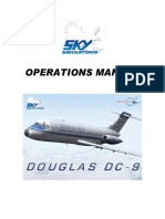 Skysim DC9 Operation Manual