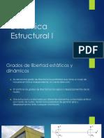 6. Dinámica Estructural I