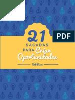 21 Sacadas para Criar Oportunidades - ebook.pdf