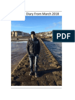 Dream Diary From 1st March 2018 -- (July Complete)