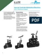 Catálogo BERMAD Válvulas de Água