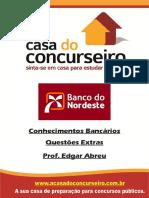 Banco Do Nordeste 2014 - Conhecimentos Bancarios - Edgar Abreu - Casa Do Concurseiro