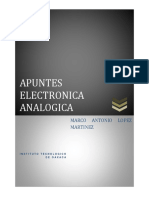 Apunte Marco Antonio Lopez Martinez Electronica Analogica
