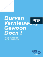 Programma MR-Open Vld 1160 gemeenteraadsverkiezingen 14 oktober 2018