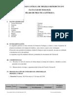 SILABO 2018 -I Evaluación Del Desempeño