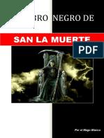 El Libro Negro de San La Muerte alta magia negra