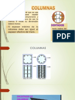 Columnas, Vigas, Losas, Muros