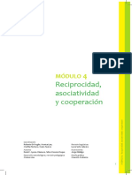 Reciprocidad, Asociatividad y Cooperación