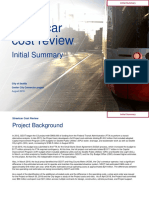 Initial Summary Streetcar Cost Review 20180831