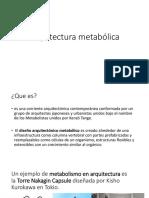 Arquitectura metabólica