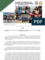 Plan Anual de Trabajo 2018 Javier Prado