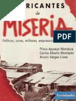 Fabricantes de Miseria - Plinio Apuleyo Mendoza