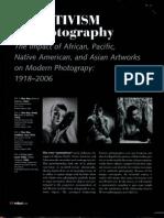 Primitivstism in Photography