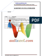 Seminar Report on Fuel Energizer