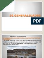 10 GENERALIDADES