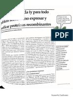 Guia Ilustrada (y Para Todo Publico) Sobre Cómo Expresar y Purificar Proteínas Recombinantes
