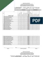 Cuadro de Herrameintas y Registro de Evaluacion