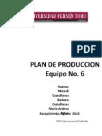 Informe Plan de Produccion Mac Papel