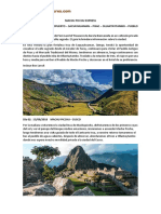 Itinerario Peru Land of Treasures