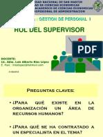 Rol Del Supervisor