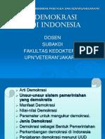 KULIAH 8 Demokrasi Indonesia
