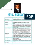 Hno Policarpo Tabla