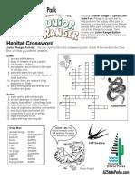 LYLA Junior Ranger Crosswords