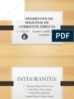 Fundamentos de Máquinas de Corriente Directas (CD) Diapos