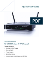 RV 120W Wireless-N VPN Firewall