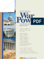 National War Powers Commission Report