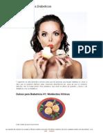 12 Dulces Para Diabeticos