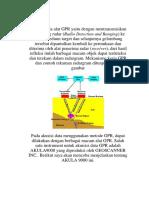 Prinsip Kerja Alat GPR Yaitu Dengan Mentransmisikan Gelombang Radar
